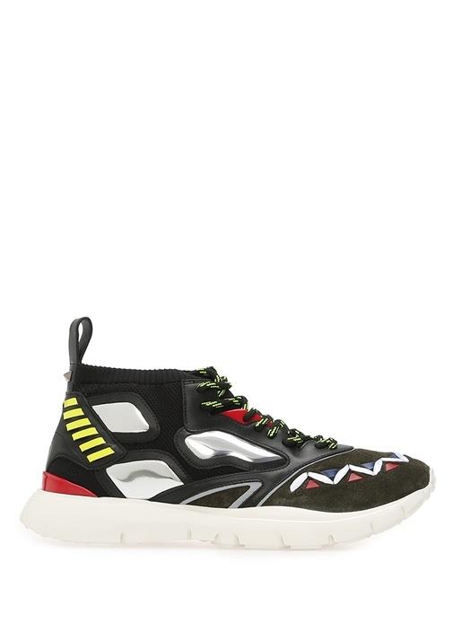 Valentino Çok Renkli Siyah ERKEK  Valentino Garavani Erkek Çorap Formlu Sneaker 484706 Beymen
