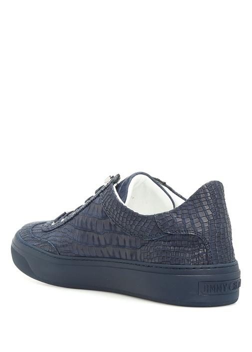 Ace Lacivert Deri Erkek Sneaker