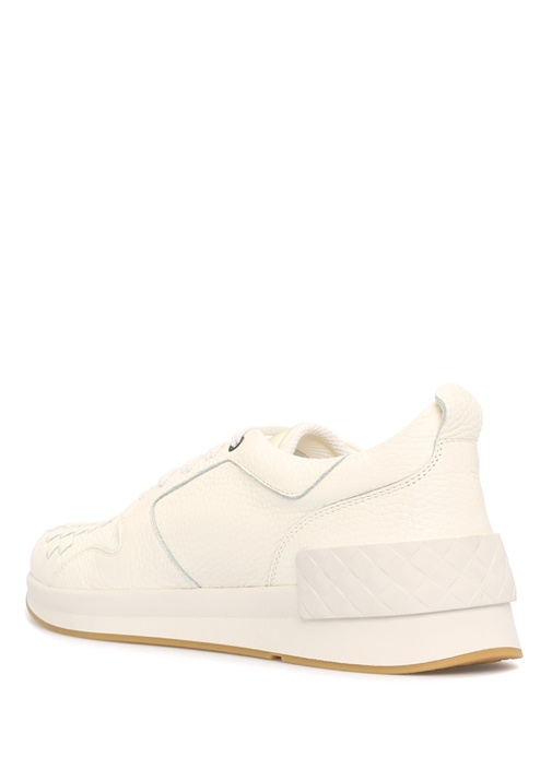 Calf Bv Grand Deri Beyaz Erkek Sneaker