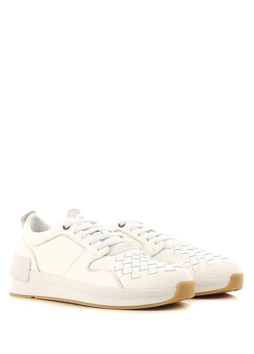 Calf Bv Grand Deri Kahverengi Erkek Sneaker