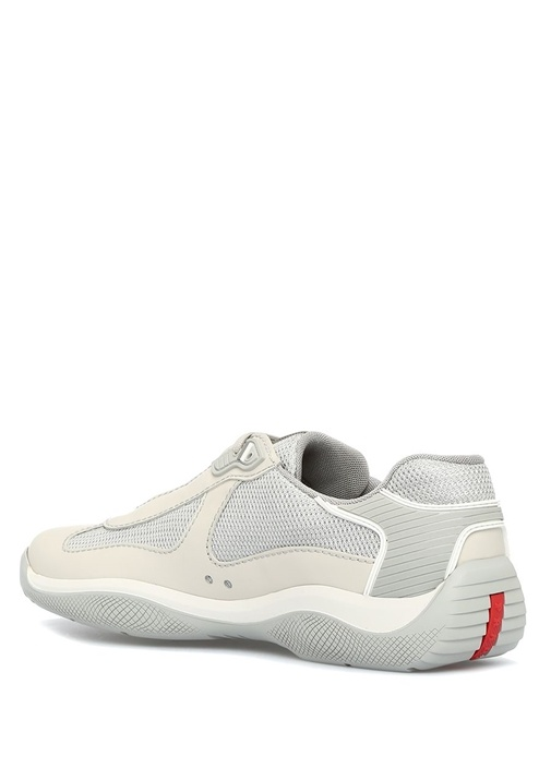 Bej Erkek Deri Sneaker