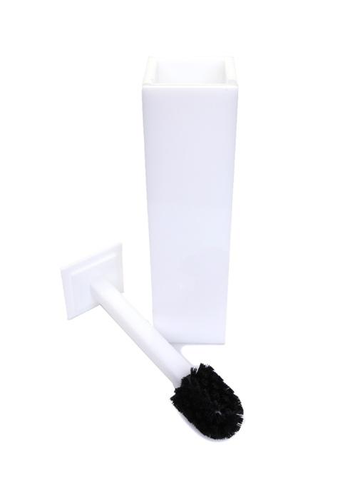 Beyaz Tuvalet Fırçası