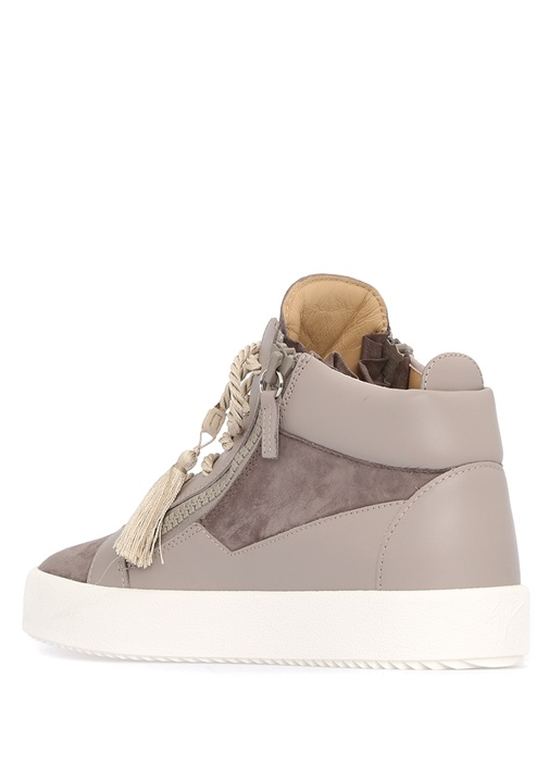 Kriss Vizon Deri Kadın Sneaker