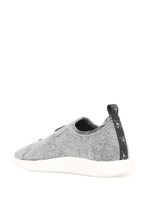 Alena Gümüş Deri Kadın Sneaker