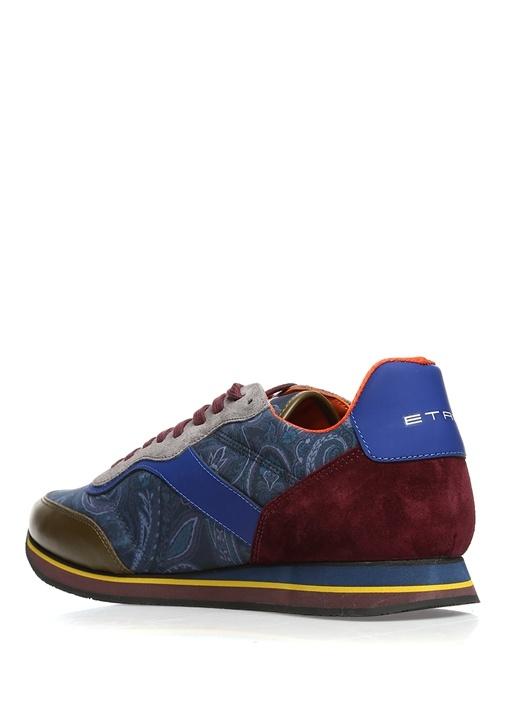 Panelled Colour Block Mavi Erkek Sneaker