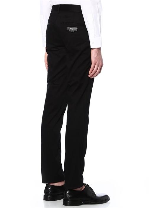 Siyah Dar Paça Pantolon