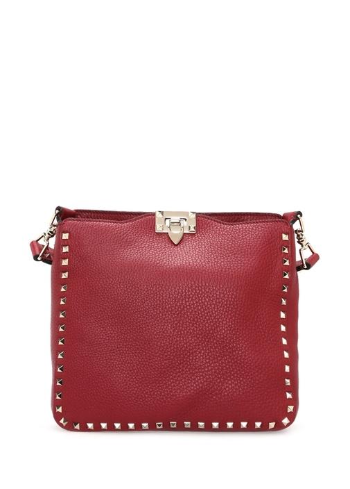 Kırmızı Small Hobo Çanta