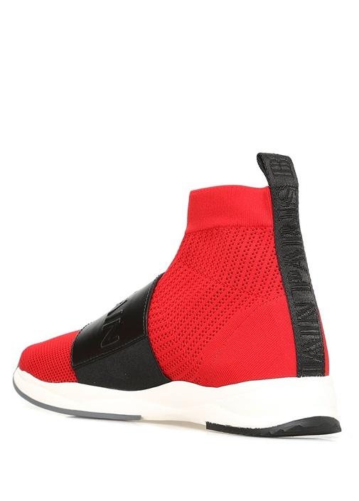 Embossed Cameron Kırmızı Erkek Sneaker