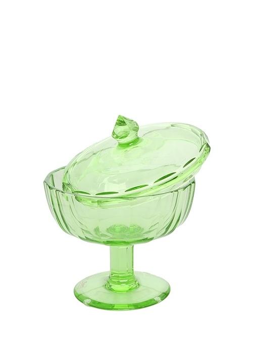Yeşil Ayaklı Kristal Şekerlik