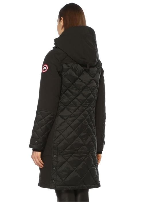 Cabot Siyah Palto