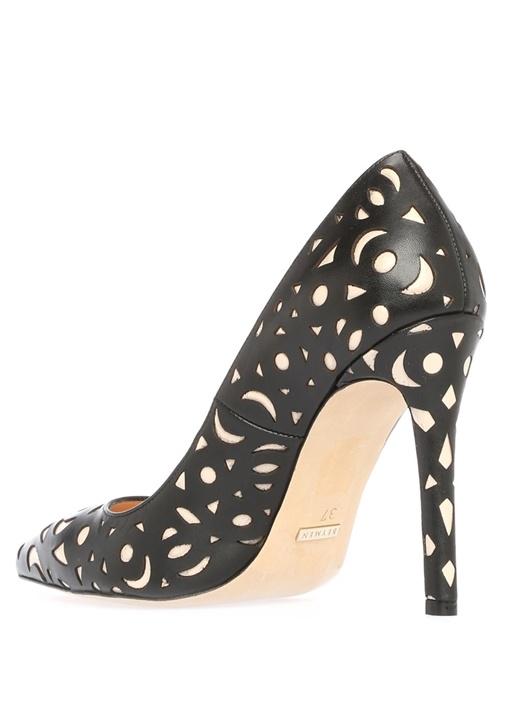 Siyah Deri Gece Ayakkabısı