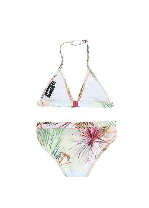 Nara Palmiye Baskılı Kız Çocuk Bikini Takımı