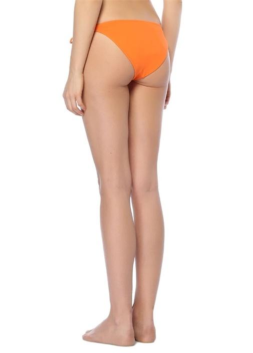 Myrara Turuncu Bağcıklı Bikini Altı