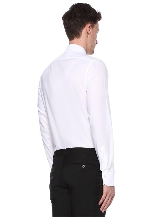 TUXEDO Beyaz İngiliz Yaka Smokin Gömleği