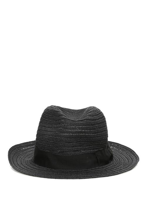Siyah Bant Detaylı Erkek Şapka