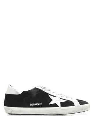 Superstar Archive Patch Siyah Süet Kadın Sneaker