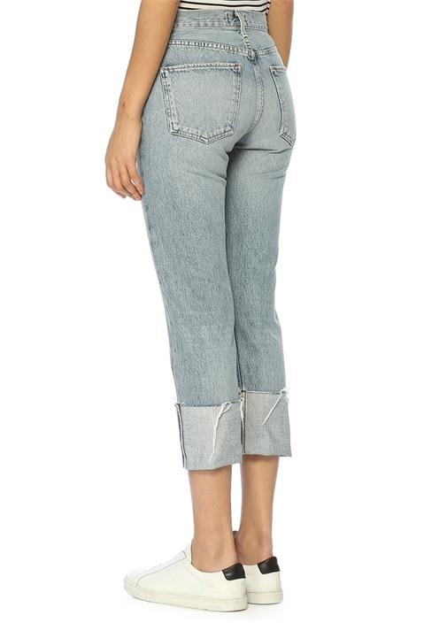 Cherie Açık Mavi Yüksek Bel Jean Pantolon