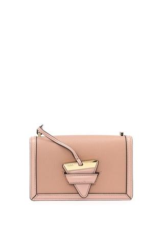 Loewe Kadın Kırmızı Deri Çanta Altın Rengi Ürün Resmi