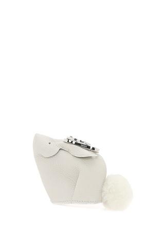 Loewe Kadın avşan Formlu Bej Mini Çanta Beyaz Ürün Resmi