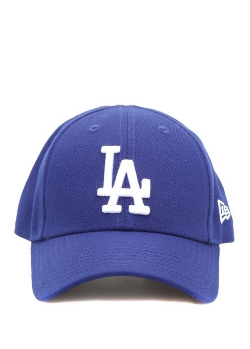Mavi Nakış Logolu Unisex Çocuk Şapka