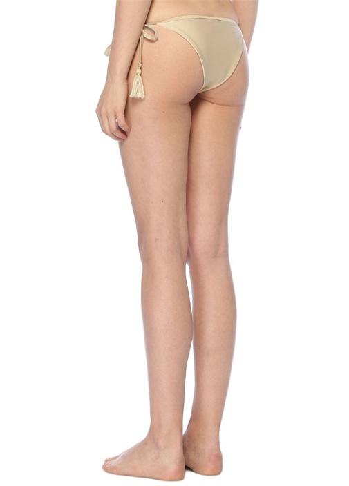 Gold Püskül Detaylı Bikini Altı