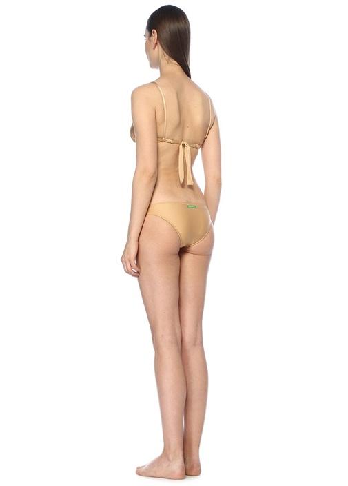 Su Gold Bağcıklı Üçgen Bikini Takımı