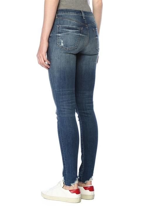 Maria Yüksek Bel Yıpratmalı Skinny JeanPantolon