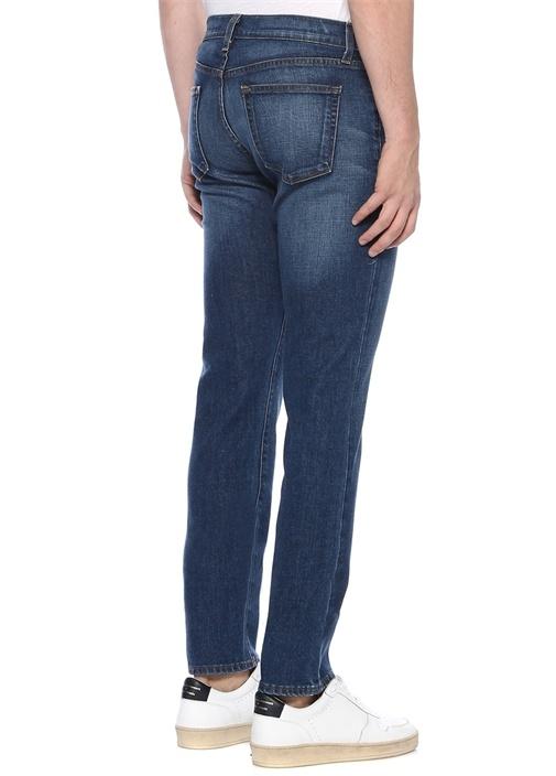 Tyler Slim Fit Mavi Dar Paça Jean Pantolon