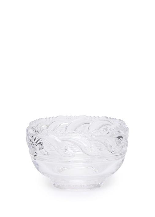 Dolphim Şeffaf İşlemeli Kristal Kase