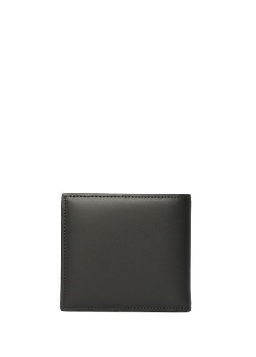 Valentino Garavani Siyah Logolu Erkek Deri Cüzdan