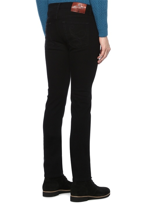 Slim Fit Siyah Jean Pantolon