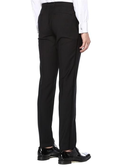 Siyah Yanları Şerit Detaylı Pantolon