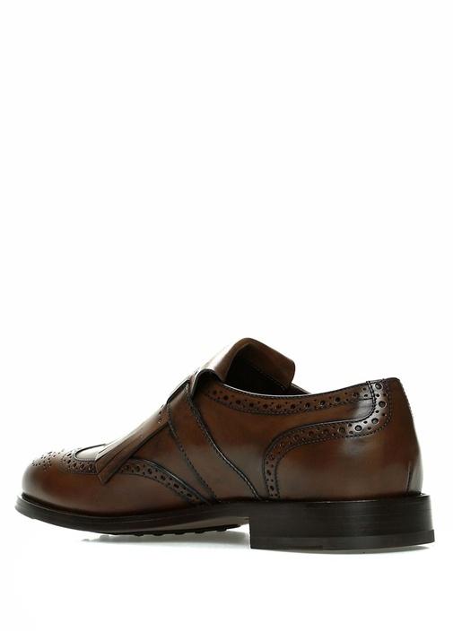 Taba Logolu Erkek Deri Ayakkabı