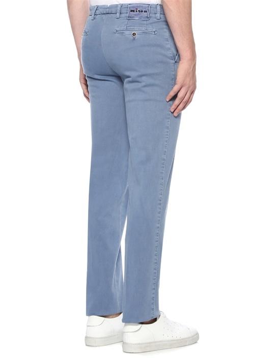 Mavi Normal Bel Boru Paça Pantolon