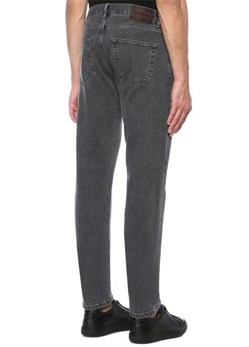 Gri Normal Bel Jean Pantolon