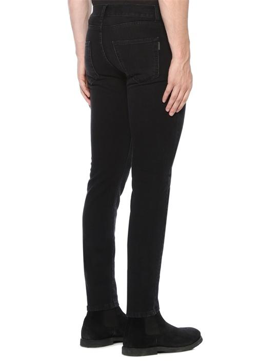 Skinny Fit Siyah Jean Pantolon