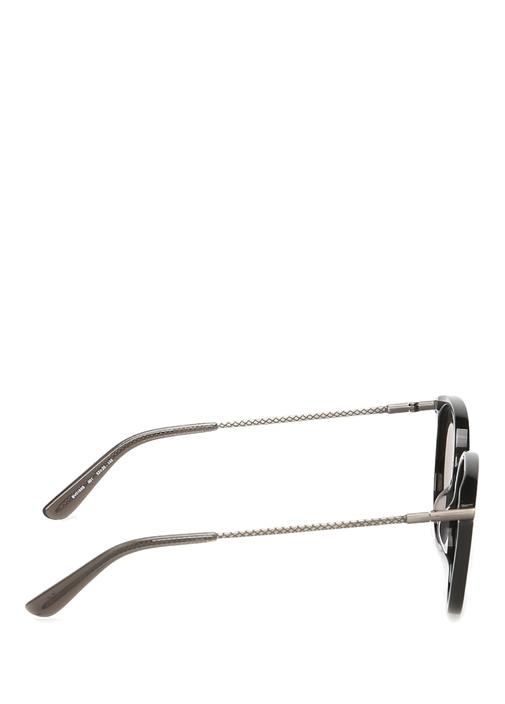 Siyah Kare Formlu Kadın Güneş Gözlüğü