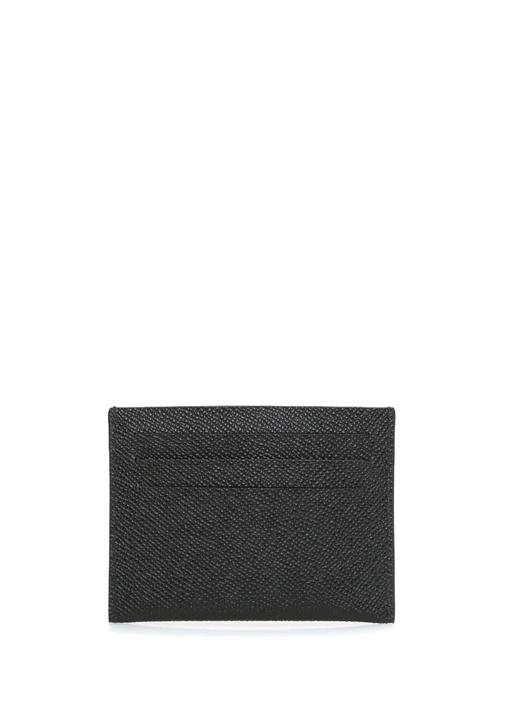 Siyah Logolu Erkek Deri Kartlık