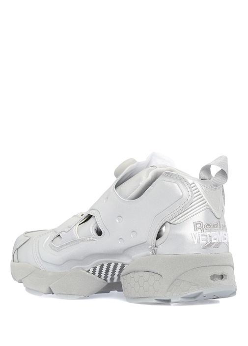 Reflective Instapump Gri Kadın Sneaker