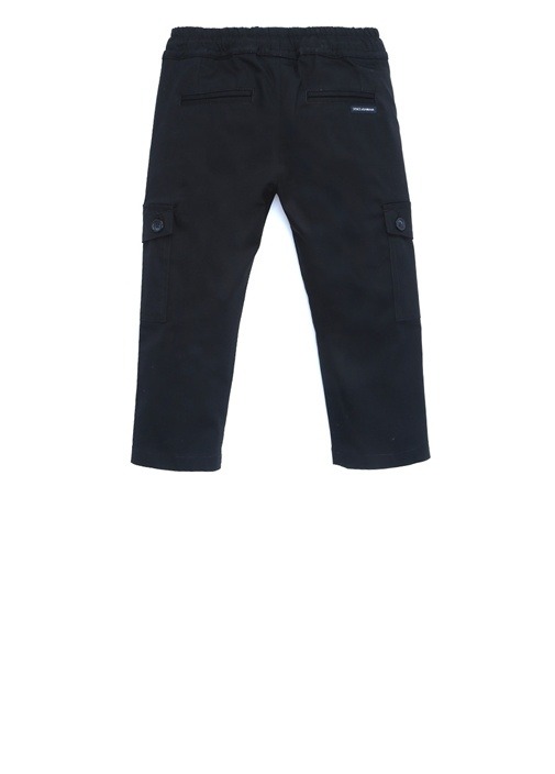 Lacivert Dar Paça Erkek Çocuk Pantolon