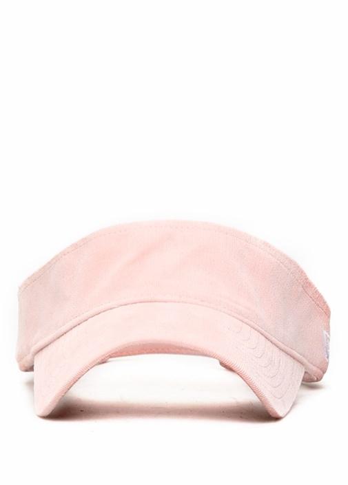 Micro Cord Visor Pembe Kadın Şapka