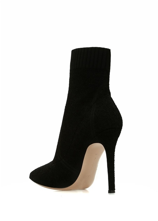 Fiona Siyah Çorap Formlu Kadın Bot