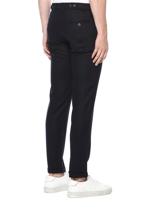 Rampin Siyah 4 Cepli Yün Pantolon