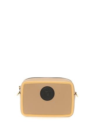 Fendi Kadın Mini Camera Vizon Deri Çanta Bej EU