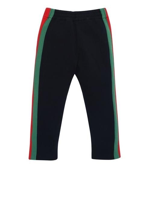 Lacivert Logo Şeritli Erkek Çocuk Jogger Eşofman