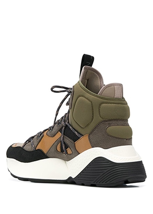 Eclypse Siyah Haki Colorblocked Erkek Sneaker