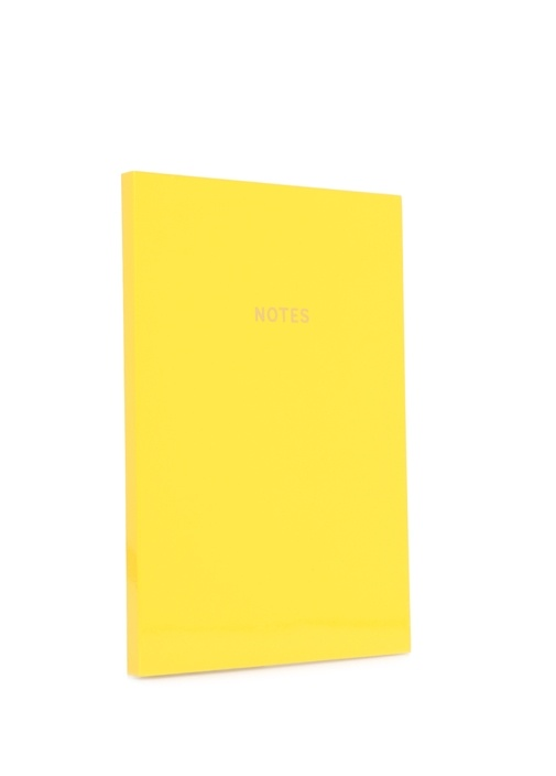 Colourblock Sarı A5 Defter