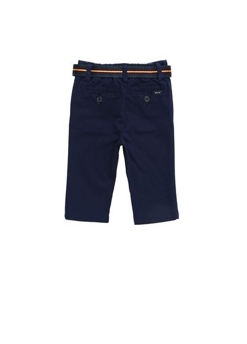 Lacivert Kemerli Erkek Çocuk Pantolon