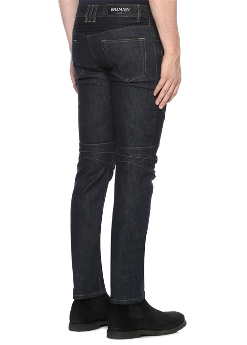 Raw Slim Fit Lacivert Jean Pantolon