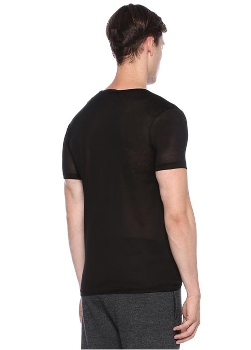 252 Royal Beyaz Basic T-shirt